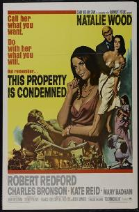 This Property Is Condemned - 43 x 62 Movie Poster - Bus Shelter Style A