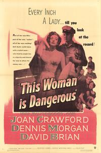 This Woman Is Dangerous - 27 x 40 Movie Poster - Style A