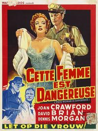 This Woman Is Dangerous - 11 x 17 Movie Poster - Belgian Style B