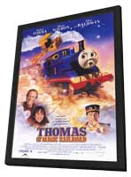 Thomas and the Magic Railroad - 11 x 17 Movie Poster - Style C - in Deluxe Wood Frame