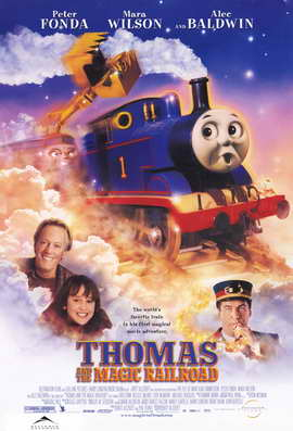 Thomas and the Magic Railroad - 11 x 17 Movie Poster - Style C