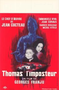Thomas the Imposter - 27 x 40 Movie Poster - Belgian Style A