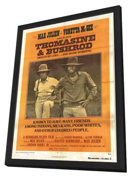 Thomasine and Bushrod - 11 x 17 Movie Poster - Style B - in Deluxe Wood Frame