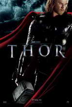 Thor - 27 x 40 Movie Poster - French Style A