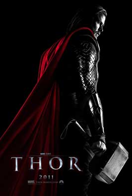 Thor - 11 x 17 Movie Poster - Style D