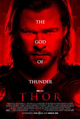 Thor - 27 x 40 Movie Poster - Style D