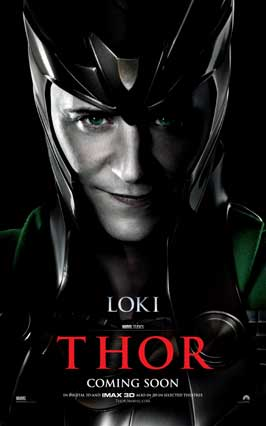 Thor - 11 x 17 Movie Poster - Style K