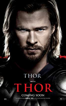 Thor - 11 x 17 Movie Poster - Style M