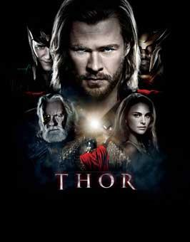 Thor - 11 x 17 Movie Poster - Style U
