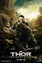 Thor: The Dark World - 27 x 40 Movie Poster - Style D