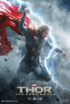 Thor: The Dark World - 11 x 17 Movie Poster - Style E