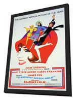 Thoroughly Modern Millie - 11 x 17 Movie Poster - Style B - in Deluxe Wood Frame