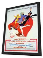 Thoroughly Modern Millie - 27 x 40 Movie Poster - Style B - in Deluxe Wood Frame