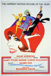 Thoroughly Modern Millie - 27 x 40 Movie Poster - Style B
