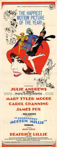 Thoroughly Modern Millie - 14 x 36 Movie Poster - Insert Style A