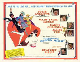 Thoroughly Modern Millie - 22 x 28 Movie Poster - Half Sheet Style A
