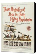 Those Magnificent Men in Their Flying Machines - 11 x 17 Movie Poster - Style A - Museum Wrapped Canvas
