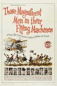 Those Magnificent Men in Their Flying Machines - 27 x 40 Movie Poster - Style A