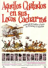 Those Magnificent Men in Their Flying Machines - 27 x 40 Movie Poster - Spanish Style A