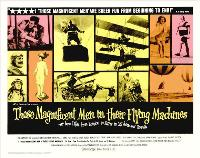 Those Magnificent Men in Their Flying Machines - 11 x 17 Movie Poster - Style B