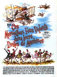 Those Magnificent Men in Their Flying Machines - 11 x 17 Movie Poster - French Style A