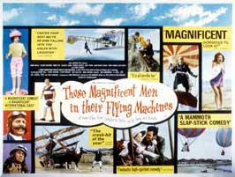 Those Magnificent Men in Their Flying Machines - 22 x 28 Movie Poster - Half Sheet Style B