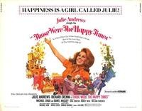 Those Were the Happy Times - 11 x 14 Movie Poster - Style A
