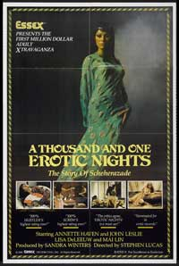 Thousand and One Erotic Nights, A - 11 x 17 Movie Poster - Style A