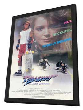Thrashin' - 11 x 17 Movie Poster - Style A - in Deluxe Wood Frame