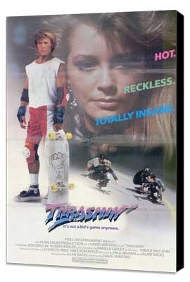 Thrashin' - 11 x 17 Movie Poster - Style A - Museum Wrapped Canvas
