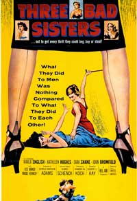 Three Bad Sisters - 43 x 62 Movie Poster - Bus Shelter Style A