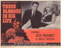 Three Blondes in His Life - 11 x 14 Movie Poster - Style F
