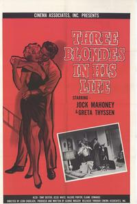 Three Blondes in His Life - 11 x 17 Movie Poster - Style A