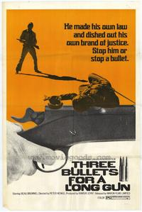 Three Bullets for a Long Gun - 11 x 17 Movie Poster - Style A