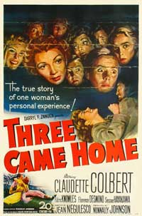 Three Came Home - 27 x 40 Movie Poster - Style A