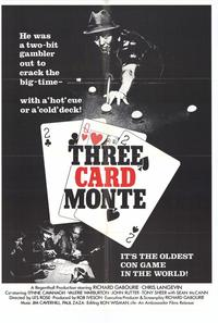 Three Card Monte - 27 x 40 Movie Poster - Style A