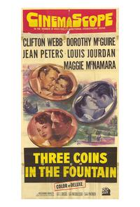 Three Coins in the Fountain - 27 x 40 Movie Poster - Style A