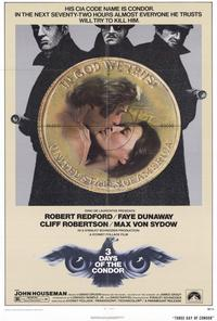 Three Days of the Condor - 43 x 62 Movie Poster - Bus Shelter Style A
