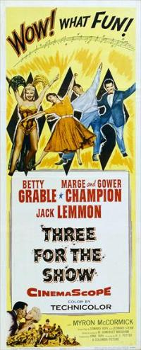 Three for the Show - 14 x 36 Movie Poster - Insert Style A