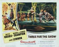 Three for the Show - 11 x 14 Movie Poster - Style B