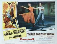 Three for the Show - 11 x 14 Movie Poster - Style E