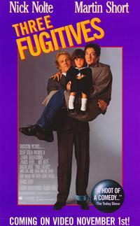 Three Fugitives - 11 x 17 Movie Poster - Style B
