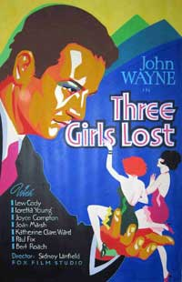 Three Girls Lost - 11 x 17 Movie Poster - Style A