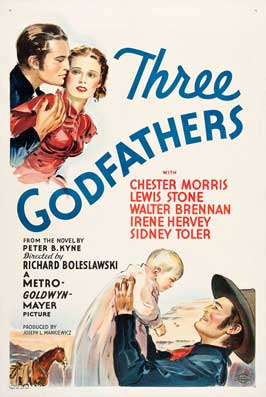 Three Godfathers - 27 x 40 Movie Poster - Style A