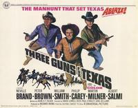 Three Guns for Texas - 11 x 14 Movie Poster - Style A