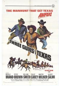 Three Guns for Texas - 27 x 40 Movie Poster - Style A