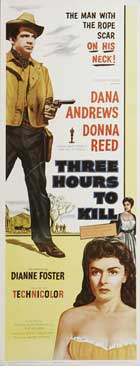 Three Hours to Kill - 14 x 36 Movie Poster - Insert Style A