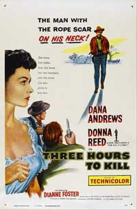 Three Hours to Kill - 11 x 17 Movie Poster - Style A