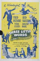 Three Little Words - 11 x 17 Movie Poster - Style E