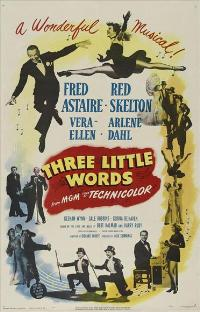 Three Little Words - 11 x 17 Movie Poster - Style A